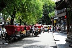 Houhai See, Peking Stockfotos
