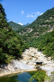 Houhe River canyon royalty free stock image
