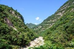 Houhe River canyon stock photos
