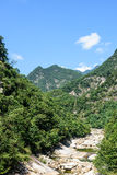 Houhe River canyon royalty free stock photography