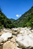 Houhe River canyon Royalty Free Stock Images