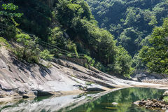 Houhe River canyon Royalty Free Stock Image