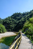 Houhe River canyon Stock Images