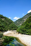 Houhe River canyon Royalty Free Stock Photo