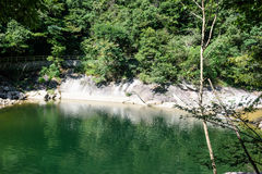 Houhe River canyon Stock Photo