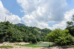 Houhe River Stock Images