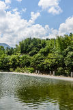 Houhe River Royalty Free Stock Photography