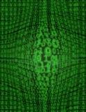 Houle binaire (avec la lueur) Images stock