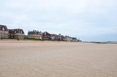 Houlgate De afdeling van Calvados in Normandië frankrijk Royalty-vrije Stock Foto