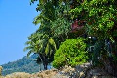 Houme em tropical Fotos de Stock