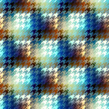 Hound-tooths plaid background Royalty Free Stock Photos