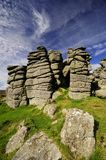 Hound Tor in Devon Stock Photos