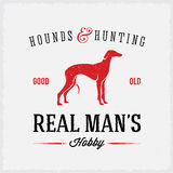Hounds and Hunting Real Mans Hobbies Abstract Royalty Free Stock Image