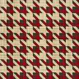 Hounds tooth Stock Images