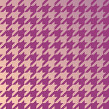 Hounds tooth. Classic pattern with gradient color. Repeating vec Stock Photo