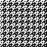 Hounds Tooth Pattern Royalty Free Stock Images