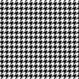 Hounds tooth vector pattern ornament. Geometric print in black and white color. Classical English background Glen plaid for fashi. Hounds tooth vector pattern royalty free illustration