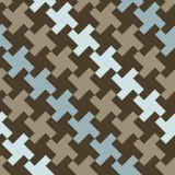 Houndstooth diagonal Fotografía de archivo