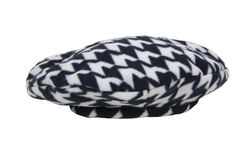 Houndstooth Driving Cap Stock Image