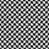 Houndstooth fabric pattern, vector seamless pattern. Abstract vector background Stock Photos