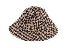 Houndstooth hat Royalty Free Stock Photo