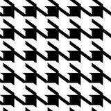 Houndstooth large background Royalty Free Stock Image