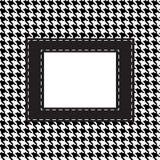 Houndstooth nahtloses Muster Stockbild