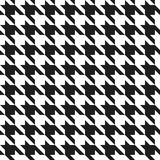 Houndstooth Pattern Royalty Free Stock Photography