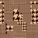 Houndstooth pattern Stock Photos