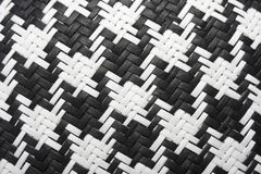 Houndstooth pattern background Stock Images