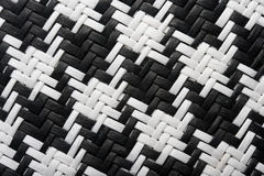 Houndstooth pattern background Royalty Free Stock Image