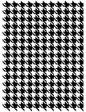 Houndstooth pattern Stock Images