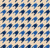 Houndstooth pattern Royalty Free Stock Image