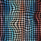 Houndstooth pattern Stock Image