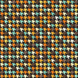 Houndstooth retro pattern. Seamless vector Stock Photo