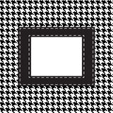 Houndstooth seamless pattern Stock Image