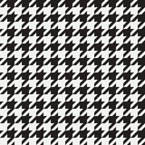 Houndstooth seamless pattern. Background for clothing and other textile products. Black and white backdrop. Vector. royalty free illustration