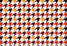 Houndstooth seamless pattern background. Illustration design royalty free illustration