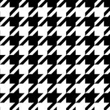 Houndstooth Seamless Pattern Black And White, Vector Stock Photos