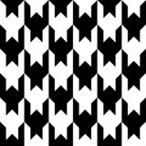 Houndstooth seamless pattern. Black and white vector abstract background.  vector illustration