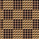 Houndstooth seamless pattern for clothes design.Trendy fabric ab. Stract print with  houndstooth  black set on colorful backdrop Geometric improvisation on a Royalty Free Stock Photo