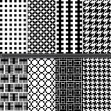 Houndstooth seamless pattern Stock Photography