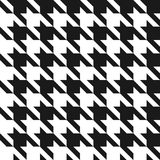 Houndstooth seamless pattern. Vintage houndstooth texture for textile and fashion industry stock illustration