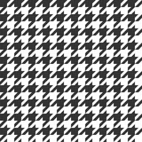 Houndstooth seamless pattern. Vintage textile texture. Classic fashion. Vector stock illustration