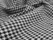 Houndstooth swirl Stock Photo
