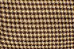 Houndstooth textile Royalty Free Stock Photography