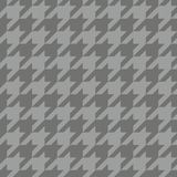 Houndstooth tile vector pattern Royalty Free Stock Image