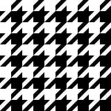 houndstooth wzór Obrazy Stock