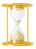 Hour glass. A illustration of an old-fasioned hour glass royalty free illustration