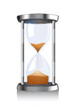 Hour glass. An isolated hour glass count Royalty Free Stock Image